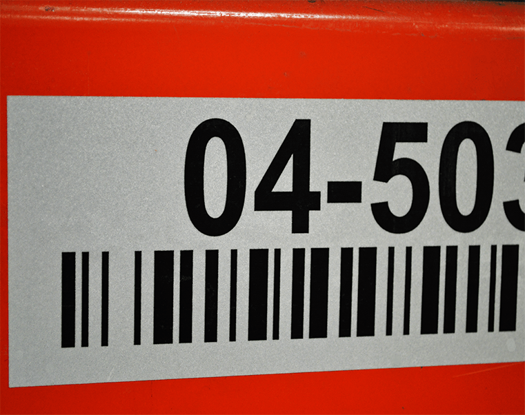 Retro Reflective labels are ideal in low light areas