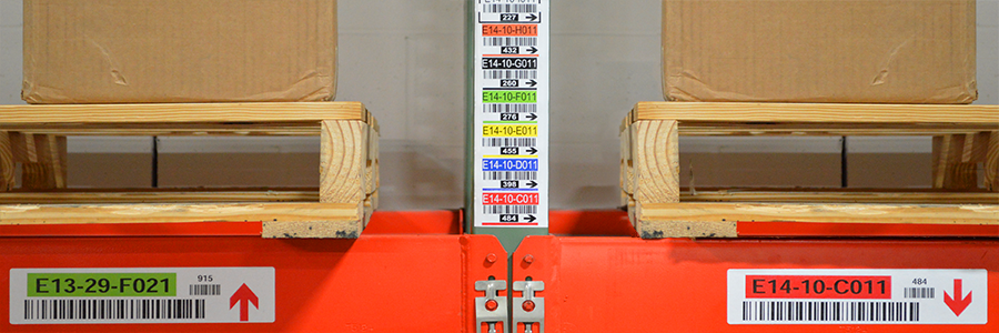 Novex Multi-level Legend Labels incorporate color and arrows to ensure proper identification